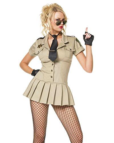 Sheriff Costume Leg Avenue (Sheriff Adult Costume - Medium)