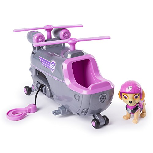 (PAW Patrol Skye's Ultimate Rescue Helicopter with Moving Propellers & Hook)