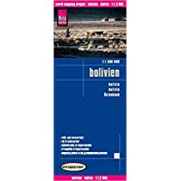 Reise Know-How Landkarte Bolivien (1:1.300.000): world mapping project