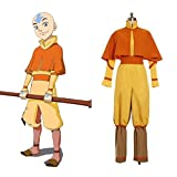 Cuterole Aang Cosplay Costume from Avatar The Legend of Korra Custom