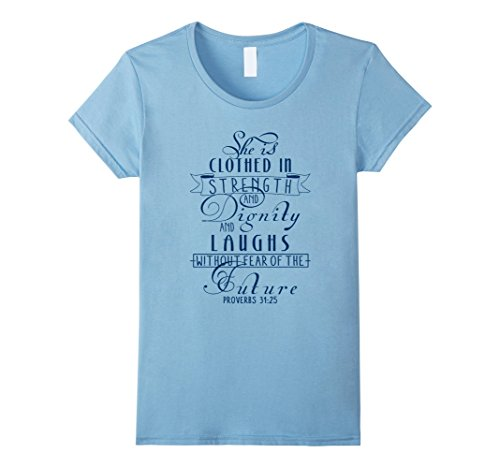 Clothed Strength Dignity Scripture T Shirt product image