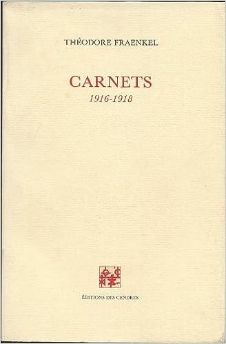Livres Carnets, 1916-1918 pdf, epub
