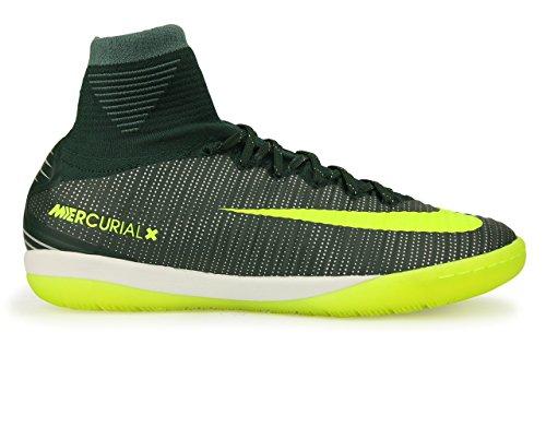 Nike Menns Mercurialx Proximo Ii Cr7 Innendørs Fotballsko Tang / Volt / Hasta / Hvite Sko