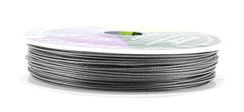 Mandala Crafts Nylon Stainless Steel 18 20 22 24 Gauge 7 Strand Soft Flexible Jewelry Making Beading Wire (0.7MM 98FT)