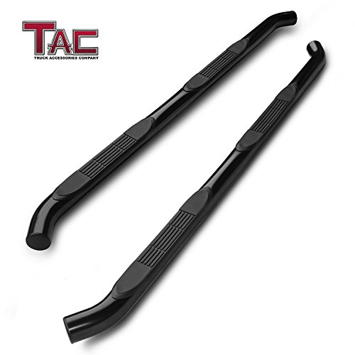 TAC Side Steps Fit 2007-2018 Jeep Wrangler JK 4 Door (Exclude 2018 Wrangler JL Models) 3