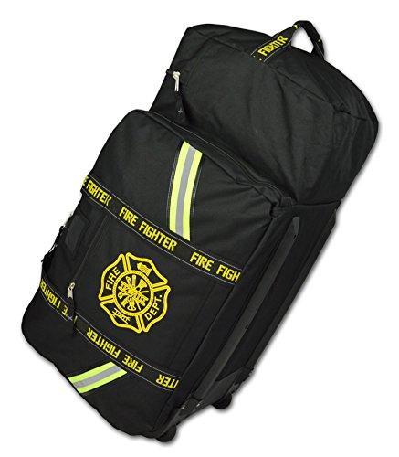 Lightning X Value Edition XL Turnout Gear Bag w/ Wheels & Helmet Pocket – Black