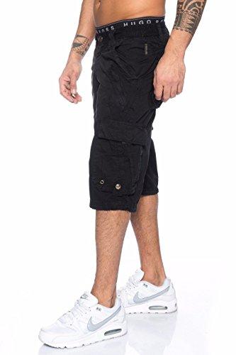 Benk Uomo Pantaloncini Nero Benk Pantaloncini rxqrv1BCwt