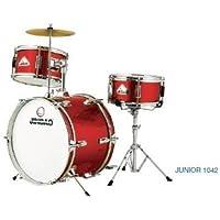 Jinbao - Batería junior, color rojo