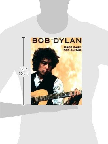 Amazon Bob Dylan Made Easy For Guitar 0752187861126 Bob