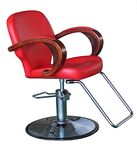 Shengyu Hydraulic Styling Barber Chair Hair Beauty Salon Equipment (Red) By  Shengyu