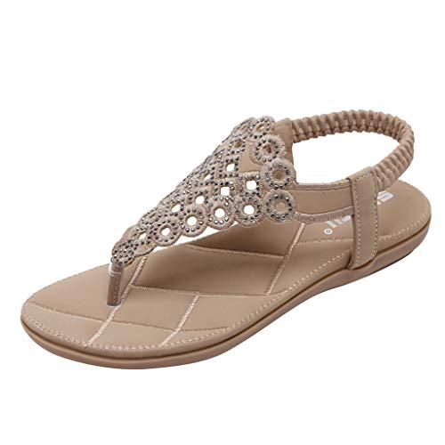 Used, KINGOLDON Women Rhinestone Bohemian Flat Shoes Ladies for sale  Delivered anywhere in USA