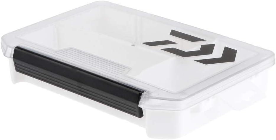 CUTICATE Tragbar Angelger/ät Box Wasserdicht Angelbox Plastikbox Angelkoffer K/öderbeh/älter