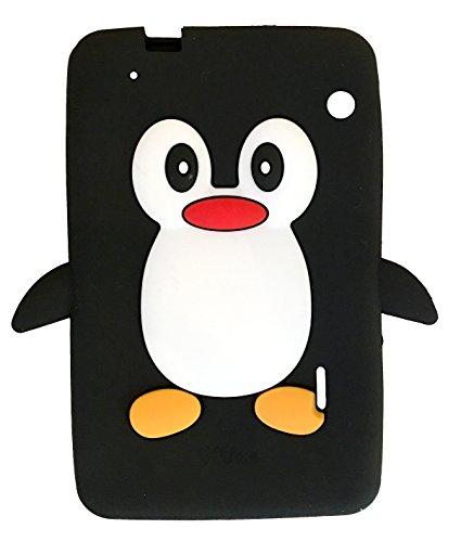SKS Distribution® negro silicona pingüino FUNDA / CARCASA / COVER para IXU X5