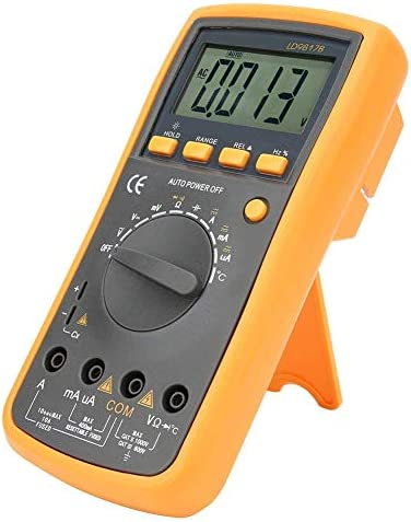 YIONGA CAIJINJIN Multimeter Digital Meter Multimeter,Portable Automatic Range Digital Multimeter DC/AC Current Voltage Resistance Tester