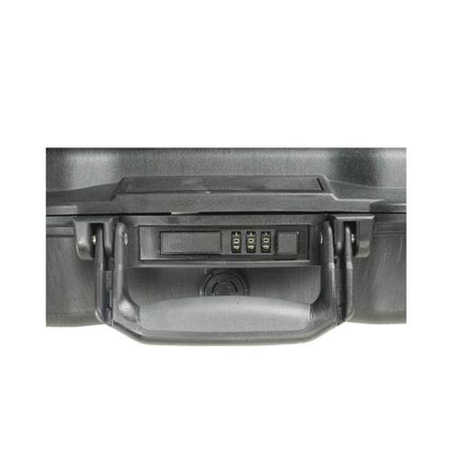 Pelican 17'' Notebook Case, Stainless Steel - Black 1495-000-110