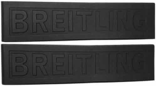 Breitling Black Rubber Strap 24/20 155S