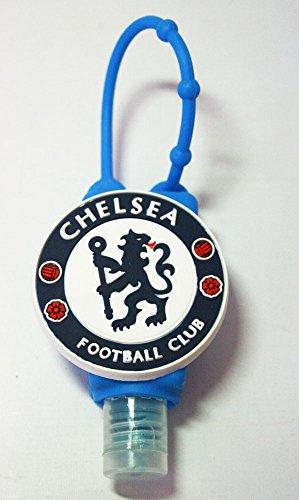 Chelsea Football Logo Hand Gel Pocket Bac, Case, Silicone Bath & BodyWorks Anti-bacterial