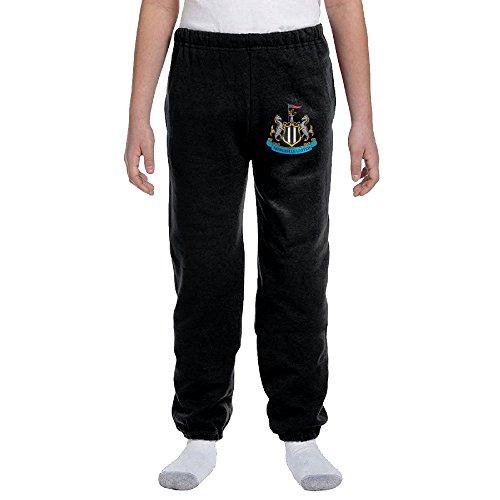 TAshuo Teen/Youth UEFA Newcastle United Logo Sweatpants (Newcastle United Youth Jersey)