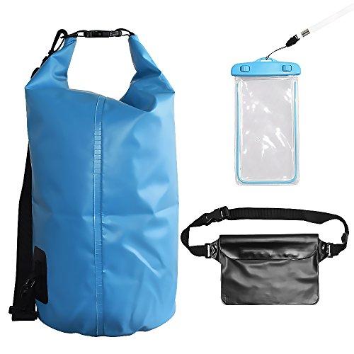 Compression Sack Waterproof Phone Case,YALUYA Roll Top Closure Detachable Shoulder Straps,Rafting, Boating,Kayaking, - Diving Suit Singapore