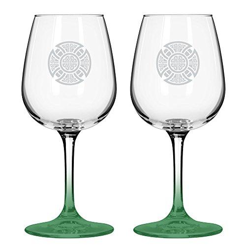 Boelter Brands ''Celtic'' Wine Glass, 12-ounce, 2-Pack by Boelter Brands