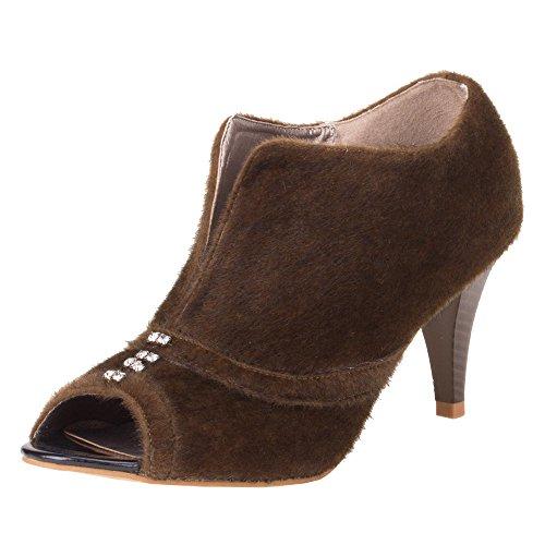 Ital-Design - Zapatos de vestir de Material Sintético para mujer Marrón - marrón