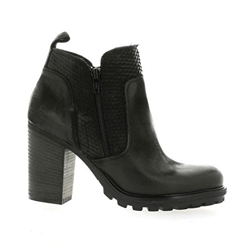 Pao Noir Noir Cuir Boots Nubuck wqwf8naC