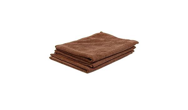 Amazon.com: eDealMax 3pcs 65 x 33cm 250GSM paños de microfibra toalla de limpieza Para el Lavado de coches de Color café: Automotive