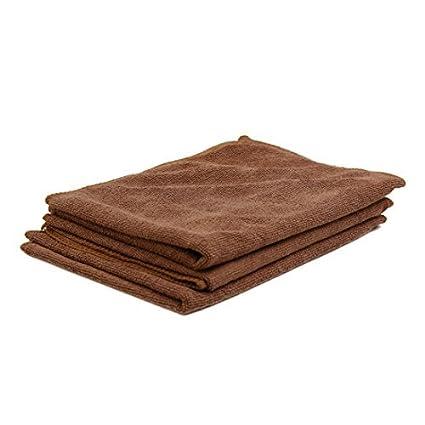 eDealMax 3pcs 65 x 33cm 250GSM paños de microfibra toalla de limpieza Para el Lavado de