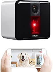 Petcube [2017 Item] Play Smart Pet Camera with Interactive Laser Toy. Remote Dog/Cat Monitoring with HD 1080p Video, Two-Way