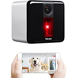 Petcube Play Smart Pet Camera with Interactive Laser Toy. Remote Dog/Cat Monitoring with HD 1080p Video, Two-Way Audio, Night Vision, Sound/Motion Alerts. App-Enabled Pet Safety and Home Security