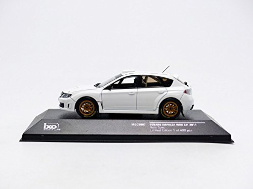 Amazon.com: IXO 1/43 Subaru Impreza WRX STI 2011 Rally ...