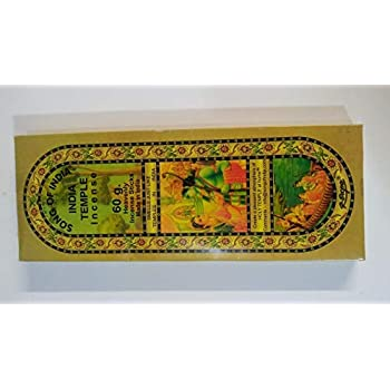 1 X India Temple Incense - Song of India - 50 Stick Medium Box