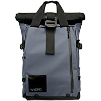 PRVKE Travel DSLR Camera Backpack with Laptop/Tablet Sleeve and Rain Cover. Rugged Photography Bag.