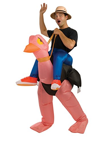 Rubie's Inflatable Costumes Ostrich Costume, Brown, Standard ()