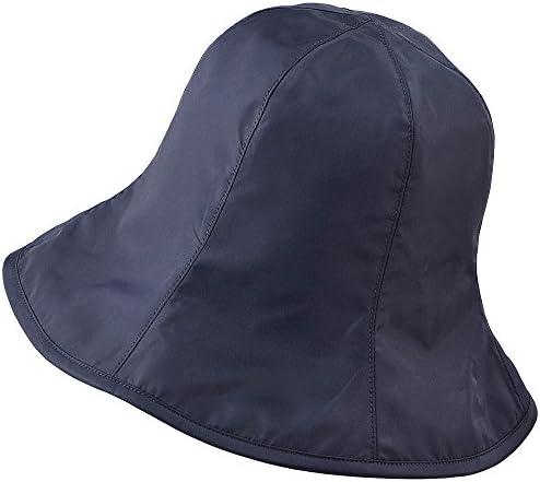 セルヴァン 超軽量UVカット撥水帽子 ブラック