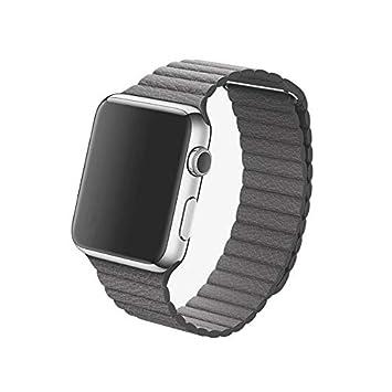 Correa magnética en imitación de Piel para Apple Watch ...