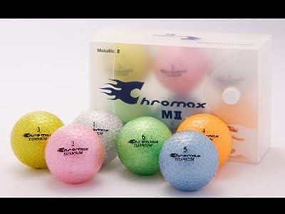 ProActive Sports Golf Chromax M2 Golf Ball Green Glitery New