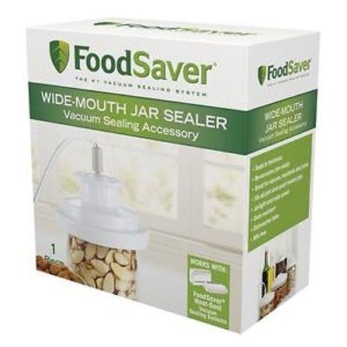 :FoodSaver Wide-Mouth Jar Sealer T03-0023-01, New For Wide M