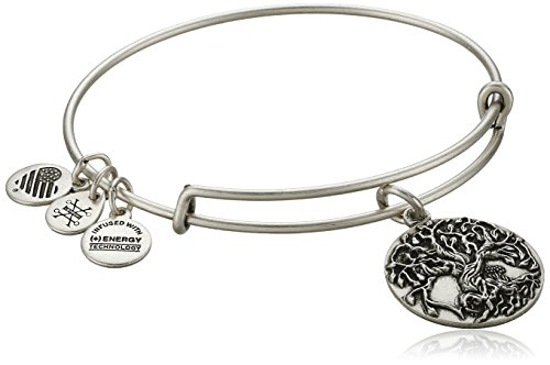 Alex and Ani Tree of Life III Expandable Rafaelian Bangle Bracelet