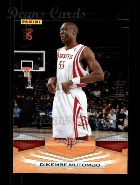 best service bcdac feeec Amazon.com: 2009 Panini # 167 Dikembe Mutombo Houston ...
