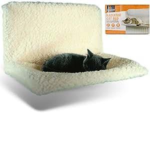 XEN Animal Kingdom - Cama para radiador de Gato de Gato, cálida, Lavable, Cesta de Cama, Hamaca de Animales: Amazon.es: Productos para mascotas