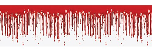 Beistle 00137 Dripping Blood Fridge Border, 15 x 5']()