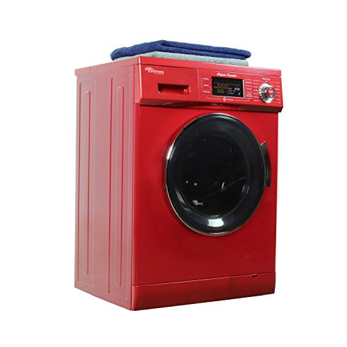 Arbreau Compact New Combo Washer Dryer AW4400 CV Merlot with Venting/Condensing Drying 1.6 Cu.Ft 1200 RPM, Steel drum, Wash Cycles 7,Dry Cycles 11,Rinse Cycles 2, Automatic Water Level and Sensor Dry