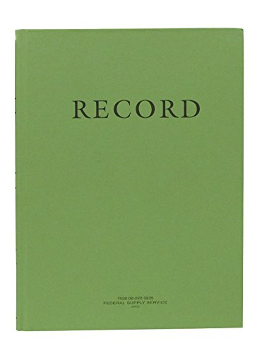 Federal Green (The Green Record Book)