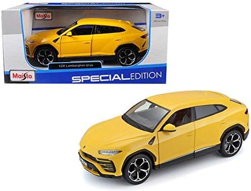 Yellow 1//24 scale Diecast Model Toy Car Lamborghini Urus Maisto 31519YL