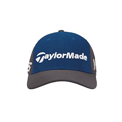 TaylorMade Golf 2018 Men's New Era Tour 39thirty Hat, Marine/graphite, Small/medium ()
