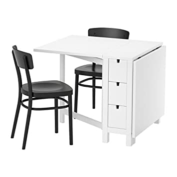 Tremendous Zigzag Trading Ltd Ikea Norden Idolf Table 2 Chairs White Alphanode Cool Chair Designs And Ideas Alphanodeonline