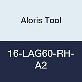 product image for Aloris Tool 16ER-LAG60-RH-A2 Partial Profile Triangular Threading Insert, 60 Degree