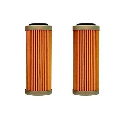 NEW OEM KTM OIL FILTERS 2 PACK 350 400 450 500 530 EXC-F SX-F XC-F XCF-W FACT. ED 2008-2020 2X 77338005100: Automotive