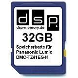 32GB Speicherkarte für Panasonic Lumix DMC-TZ41EG-K